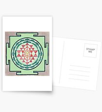 Sri Yantra 05 Postcards