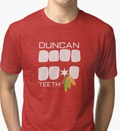 Duncan Teeth Tri-blend T-Shirt