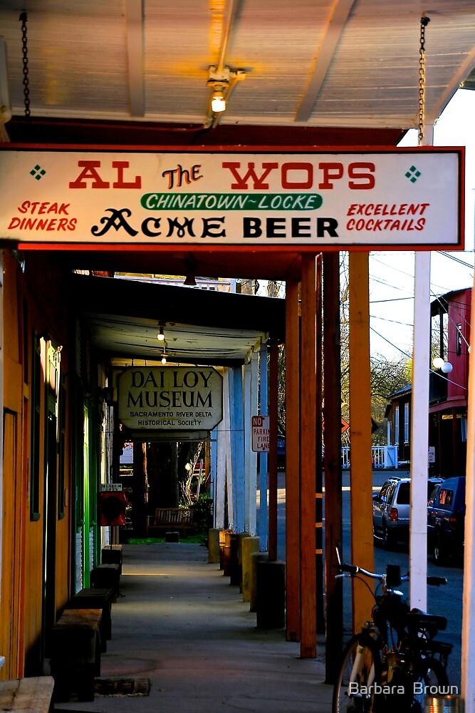 Al the Wop's by Barbara  Brown