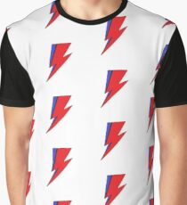 Bowie Lightning Graphic T-Shirt