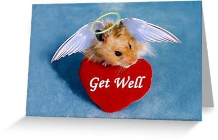 Get Well Hamster by jkartlife