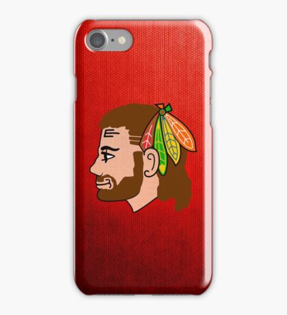 Embrace the Beard-Mullet iPhone Case/Skin