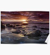 Taroona Beach Sunrise, Tasmania #13 Poster