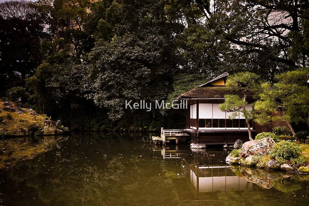 The Tea House, Kyoto by Kelly McGill