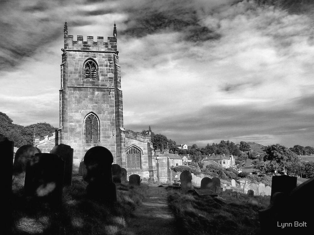 English Church High Bradfield Sheffield by Lynn Bolt