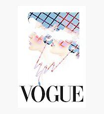 Vogue Photographic Print