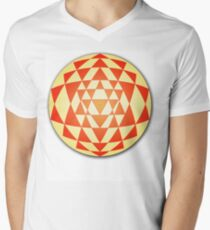 Sri Yantra 06 Men's V-Neck T-Shirt