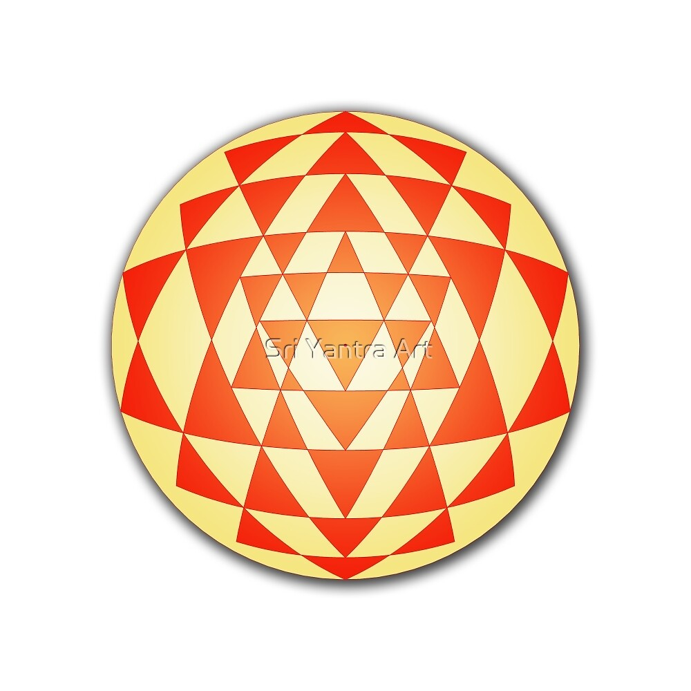 Sri Yantra 06 by Sri Yantra Art