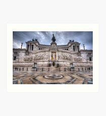 Altare della Patria - Vittorio Emanuele 1.0 Art Print
