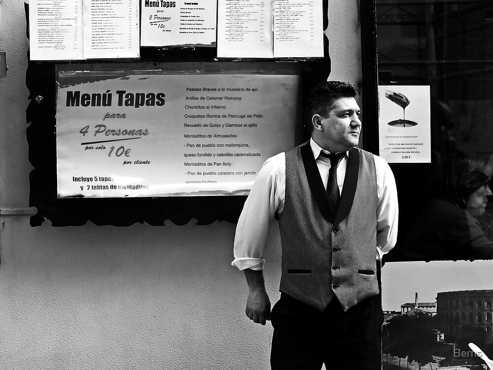 The Tapas Menu by Berns