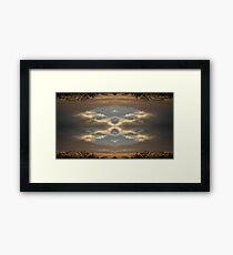 Sky Art 2 Framed Print
