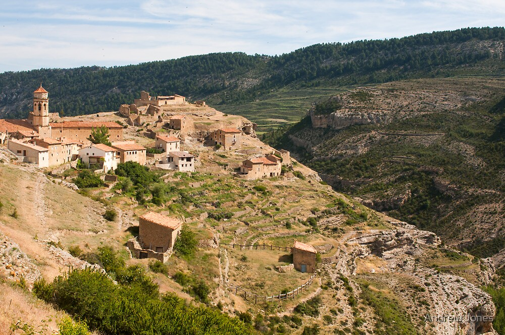 Cañada de Benatanduz, Maestrazgo, Teruel, Aragon, Spain by Andrew Jones