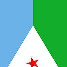 Djibouti Flag by pjwuebker