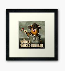 The Wocka Wocka-ing Dead Framed Print
