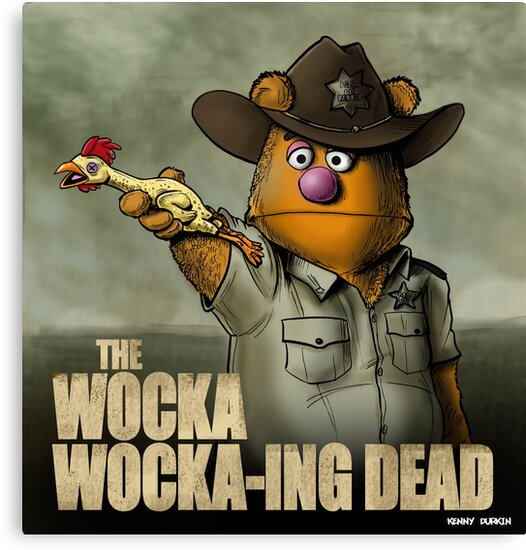 The Wocka Wocka-ing Dead by Kenny Durkin