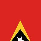 East Timor Flag by pjwuebker