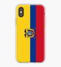 Ecuador Flag iPhone Case