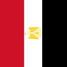 Egypt Flag by pjwuebker