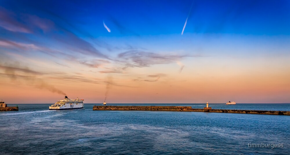 Dover Ferries by timmburgess