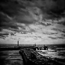 Whitby Blowing by Rory Garforth