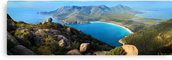 Wineglass Bay, Freycinet National Park, Tasmania by Michael Boniwell