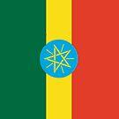 Ethiopia Flag by pjwuebker
