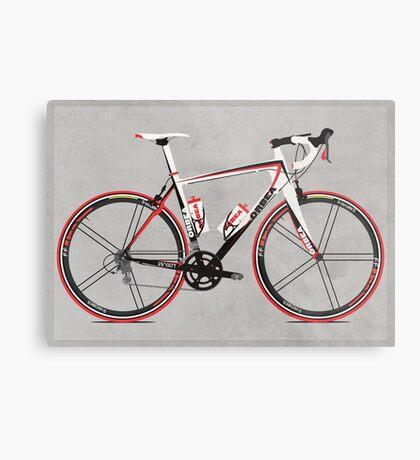 Race Bike Metal Print