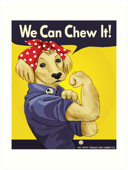"""Rosie the Retriever: """"We Can Chew It!"""" by The Fluffington Post"""