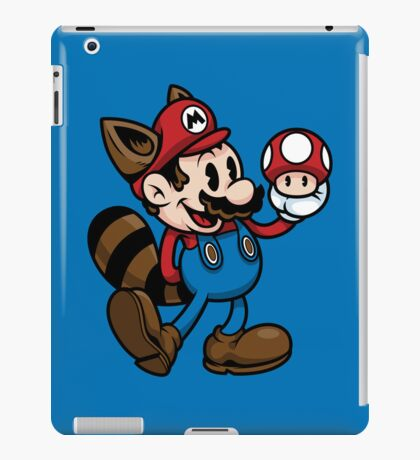 Vintage Plumber Color iPad Case/Skin