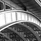 Southwark Bridge B&W by photonista