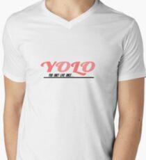 YOLO Men's V-Neck T-Shirt