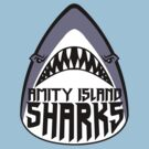 Amity Island Sharks by monsterfink