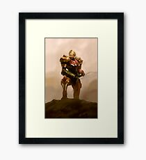 Portrait of a Bounty Hunter Framed Print