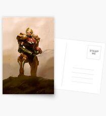 Portrait of a Bounty Hunter Postcards