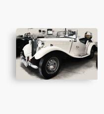 MG TD Mark ll  1952 Canvas Print