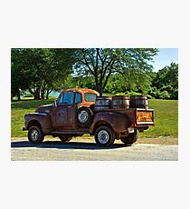 """1954 GMC Jack Daniels Pickup Truck """"Party Time"""" Photographic Print"""