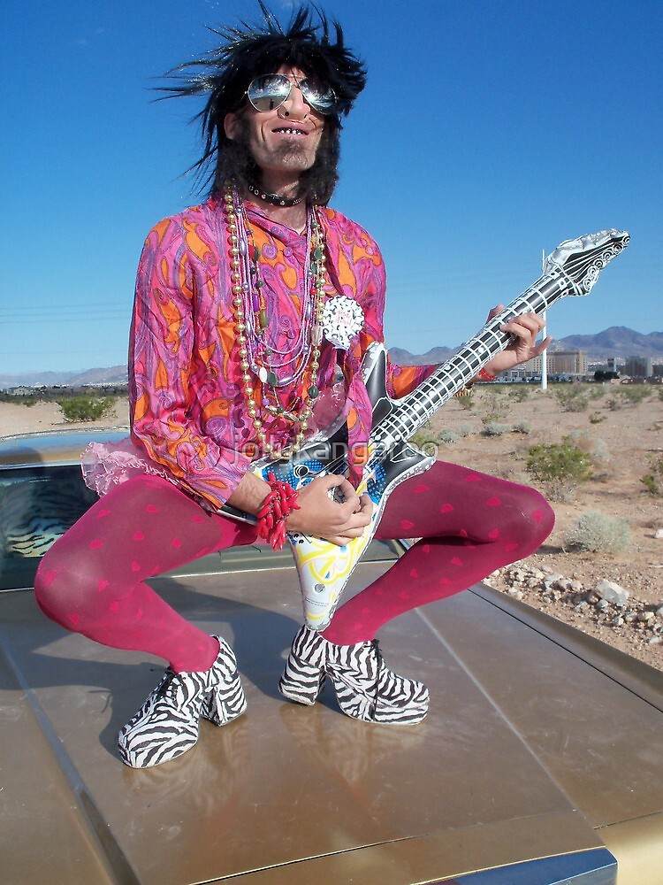 Rock Star Pansy by jollykangaroo