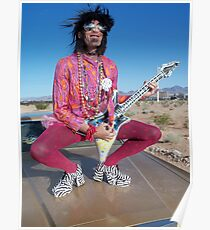 Rock Star Pansy Poster