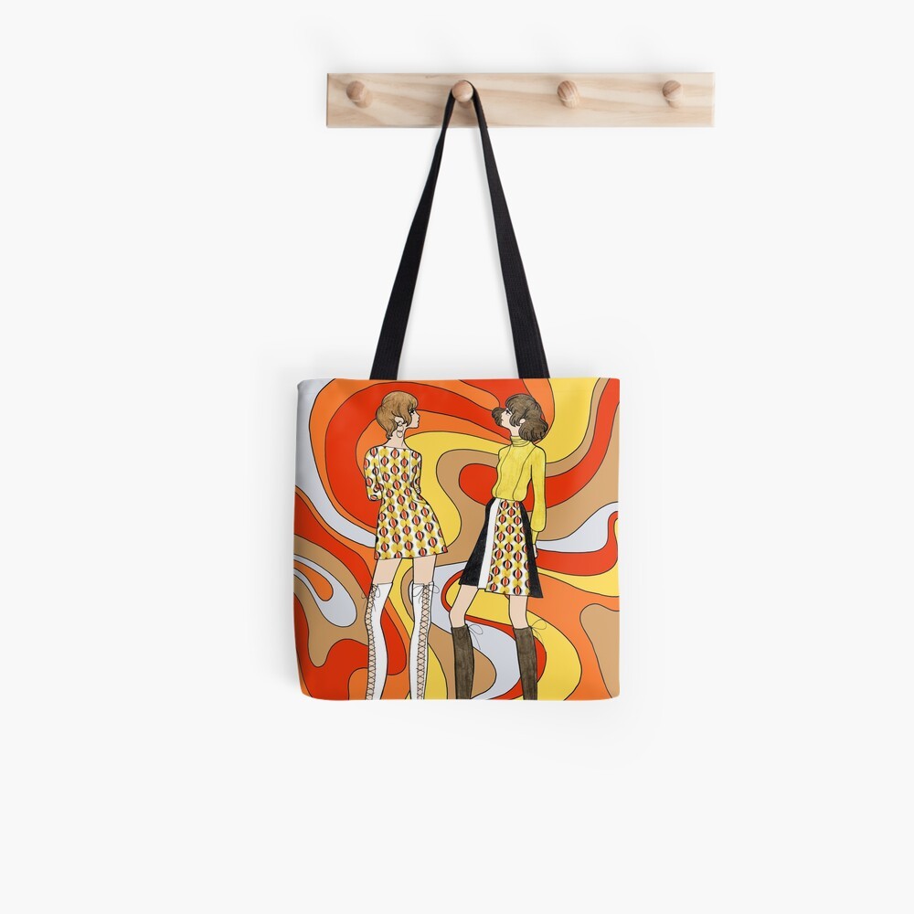 Dreamy Groove Tote Bag