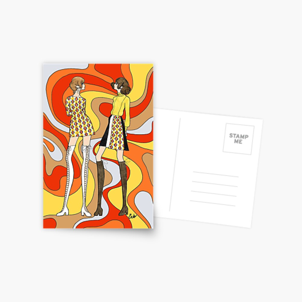 Dreamy Groove Postcard