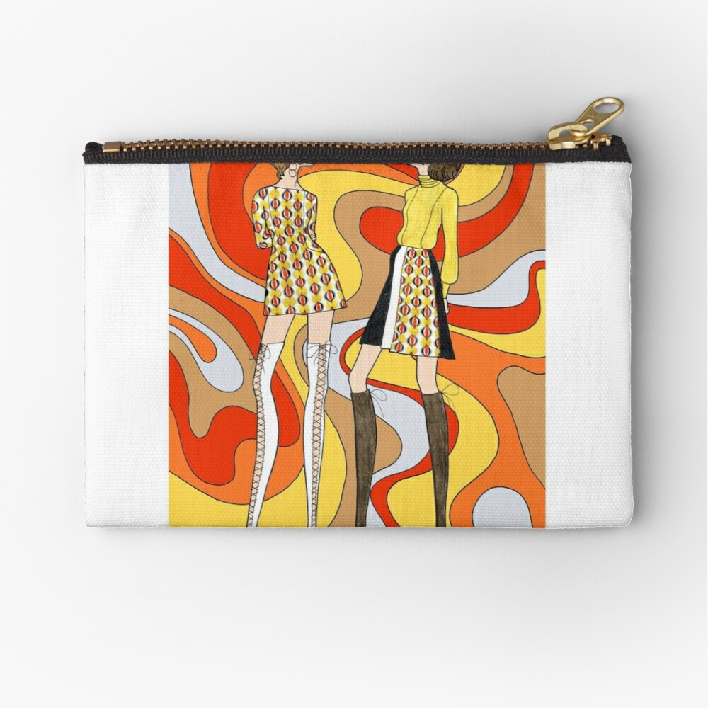 Dreamy Groove Zipper Pouch