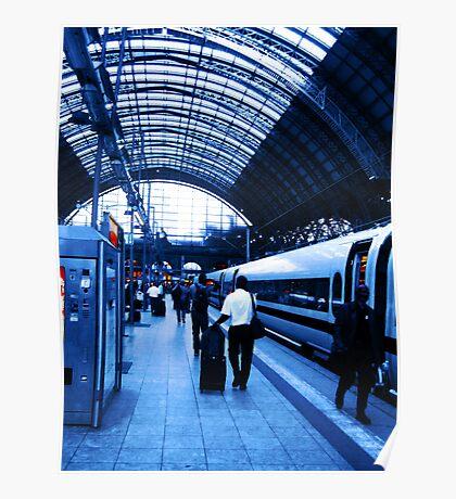 Train Station VRS2 Poster