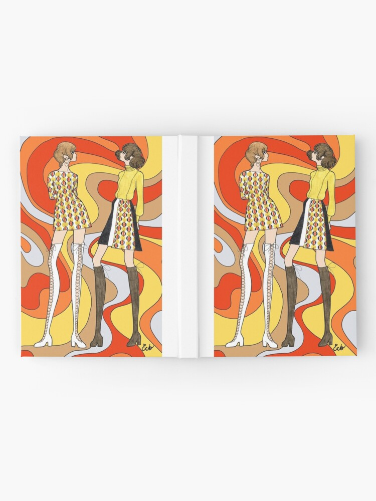 Alternate view of Dreamy Groove Hardcover Journal