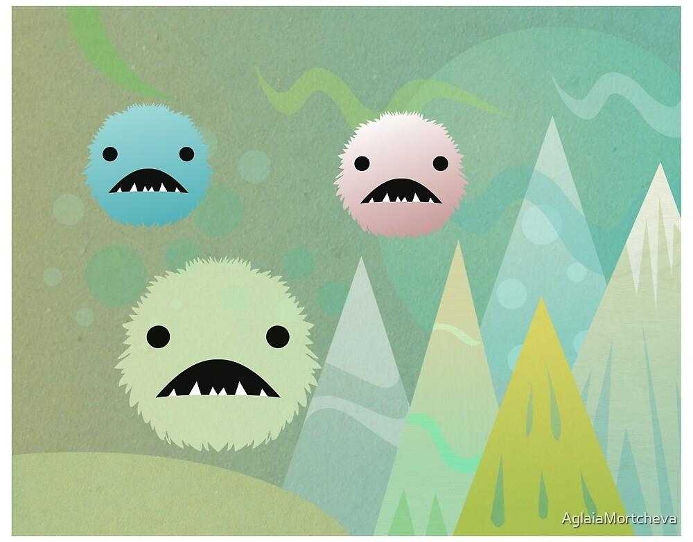 Bad Snowflakes  by AglaiaMortcheva