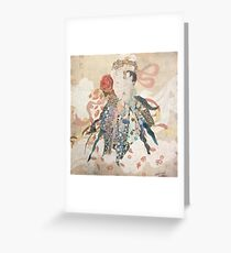 Mother's Lap Greeting Card