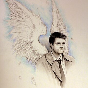 Castiel by girlinthebigbox