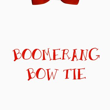 Boomerang Bow Tie by shirtypants