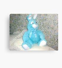 Blue Rabbit - Easter Gift Metal Print