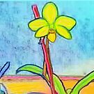 Orchid by dendelacroix