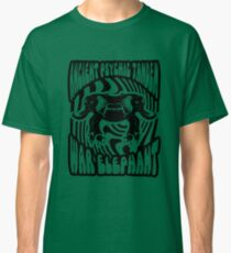 Ancient physic tandem war elephant Classic T-Shirt